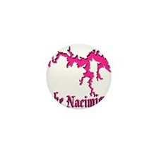 NACI (822 PINK) *NO BLACK BAC Mini Button (100 pac