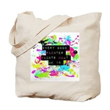 Cute Jackson pollock Tote Bag