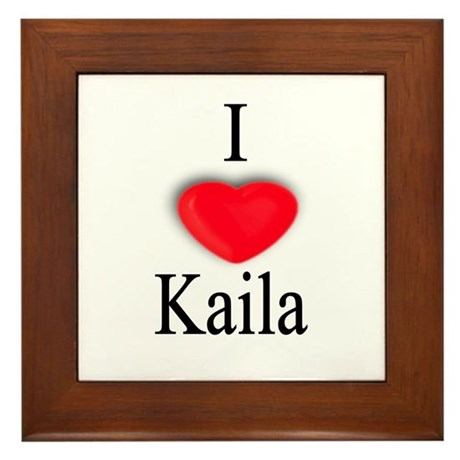 Kaila Framed Tile