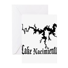 NACI (822 BLACK) Greeting Cards (Pk of 20)