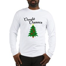 Slovak Christmas Tree Long Sleeve T-Shirt