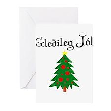 Icelandic Christmas Tree Greeting Cards (Pk of 20)