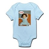 Dude Birthday Card Infant Bodysuit