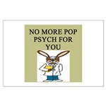 pop psych gifts and t-shirts Large Poster