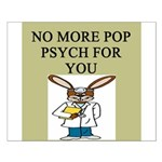 pop psych gifts and t-shirts Small Poster