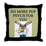 pop psych gifts and t-shirts Throw Pillow