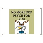 pop psych gifts and t-shirts Banner