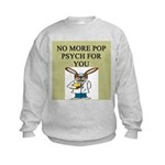 pop psych gifts and t-shirts Kids Sweatshirt