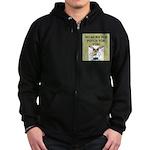 pop psych gifts and t-shirts Zip Hoodie (dark)