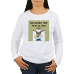 pop psych gifts and t-shirts Women's Long Sleeve T