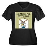 pop psych gifts and t-shirts Women's Plus Size V-N