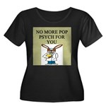 pop psych gifts and t-shirts Women's Plus Size Sco