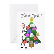 Postal worker Greeting Cards (Pk of 10)