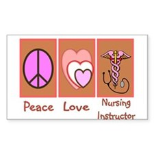 More Nursing Student Rectangle Decal