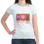 More Nursing Student Jr. Ringer T-Shirt