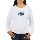 Fort Lauderdale FL - Oval Design  T-Shirt