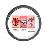 More Nursing Student Wall Clock