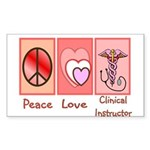More Nursing Student Rectangle Sticker