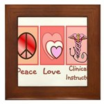 More Nursing Student Framed Tile