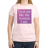 Transgender Woman Women's Pink T-Shirt