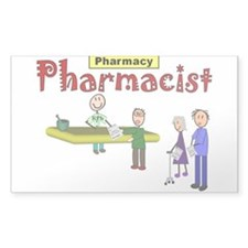pharmacists II Rectangle Bumper Stickers