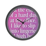 Crossdresser Wall Clock
