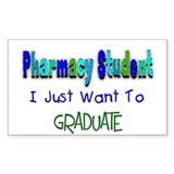 pharmacists II Rectangle Decal
