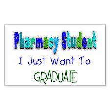 pharmacists II Rectangle Decal