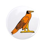 Egyptian Eagle 3.5&quot; Button (100 pack)