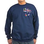 EMS Happy Holidays Greetings Sweatshirt (dark)
