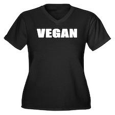 Cute Meat is murder Women's Plus Size V-Neck Dark T-Shirt