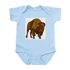 American Bison/Buffalo Infant Bodysuit
