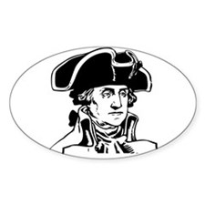 George Washington Oval Decal