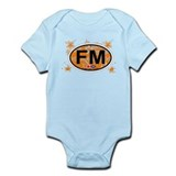 Fort Myers FL - Oval Design Infant Bodysuit