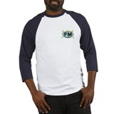 Fort Myers FL - Oval Design Baseball Jersey