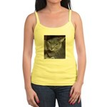 Gray Cat Love Jr. Spaghetti Tank