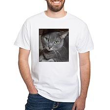 Gray Cat Love Shirt