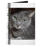 Gray Cat Love Journal