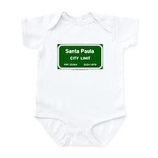 Santa Paula Infant Bodysuit