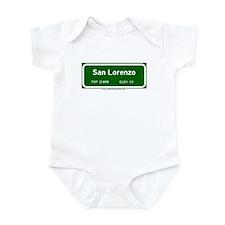 San Lorenzo Infant Bodysuit