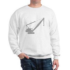 Cute Construction cranes Sweatshirt