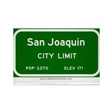 San Joaquin Rectangle Magnet (10 pack)