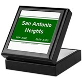 San Antonio Heights Keepsake Box