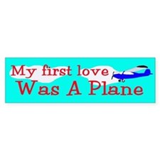 airplane Bumper Bumper Sticker