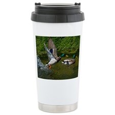 Mallard Take-off Ceramic Travel Mug