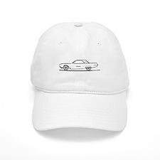 1963 Ford Thunderbird Hardtop Baseball Cap