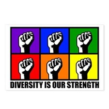 """Diversity"" Postcards (Package of 8)"