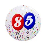 85th Birthday Ornament (Round)