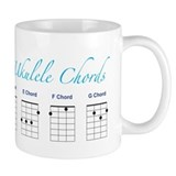 Ukulele 7 Chords Small Mug