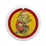 EDDIE ELEPHANT Ornament (Round)
